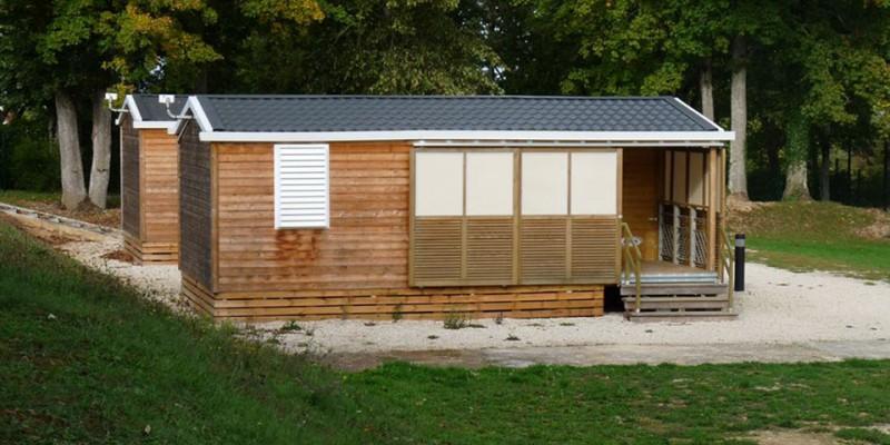 location de mobil-homes au camping de Châtillon-sur-Seine