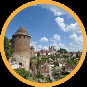 Cité médiévale Semur-en-Auxois