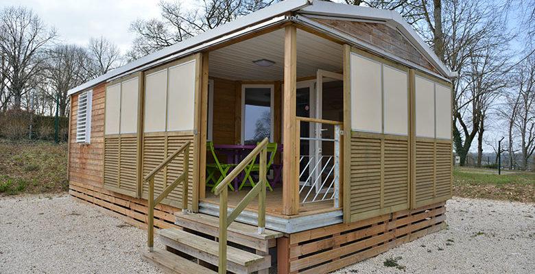 location mobil-homes au camping chatillon sur seine