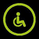 Les services du camping de Châtillon-sur-Seine : accès handicapés